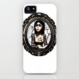 American Mcgee's Alice: Cracked mirror iPhone Case
