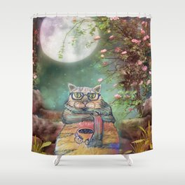 Cats Life Shower Curtain