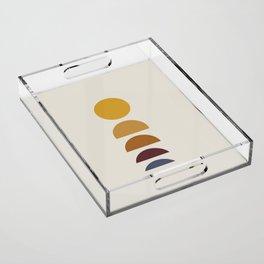 Minimal Sunrise / Sunset Acrylic Tray