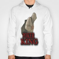 poker Hoodies featuring POKER KING  by Robleedesigns