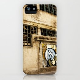 Facade at the port of Porto iPhone Case