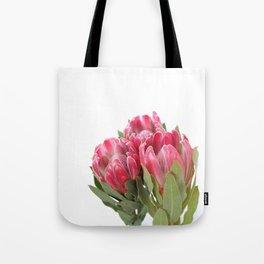 The Three Proteas Tote Bag