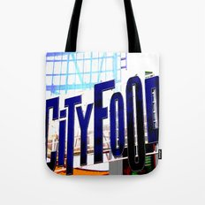 City Food Tote Bag