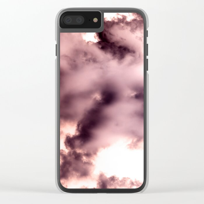 Smoke chemical Clear iPhone Case