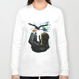 Falling To The Crows Long Sleeve T-shirt