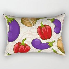 Cute vegetable pattern Rectangular Pillow