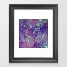 Lavender Days Framed Art Print