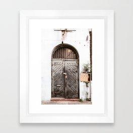 New Orleans Doorway Framed Art Print