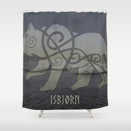 A mythical creature Shower Curtain