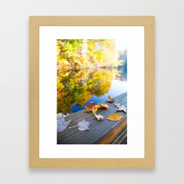 Gently Fallen Framed Art Print