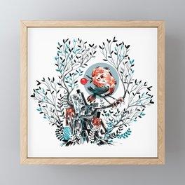 bird house Framed Mini Art Print