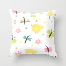 Sweet Fly Throw Pillow