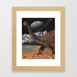 Multiverse Similarities II Framed Art Print