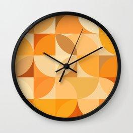 Mid Century 77 Wall Clock