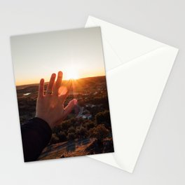 Follow the sun Stationery Cards