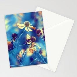 September Flowers Stationery Cards