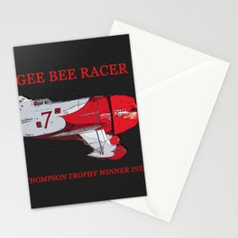 Gee Bee racer 1931 Stationery Cards