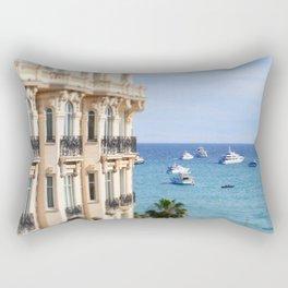Carlton Hotel views in Cannes! Rectangular Pillow