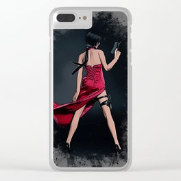Ada Wong RE Clear iPhone Case