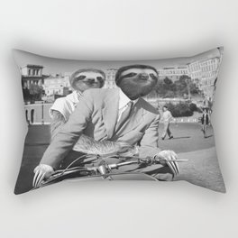 Sloth in Roman Holiday Rectangular Pillow