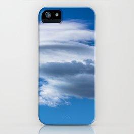 [31] Sky cloud clouds clear blue skyscape cloudscape nature iPhone Case