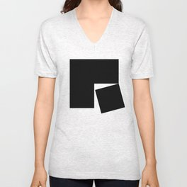 Blocks Unisex V-Neck