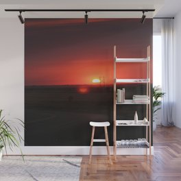 Sunset Highway Wall Mural