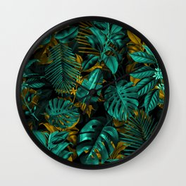 TROPICAL GARDEN VII Wall Clock
