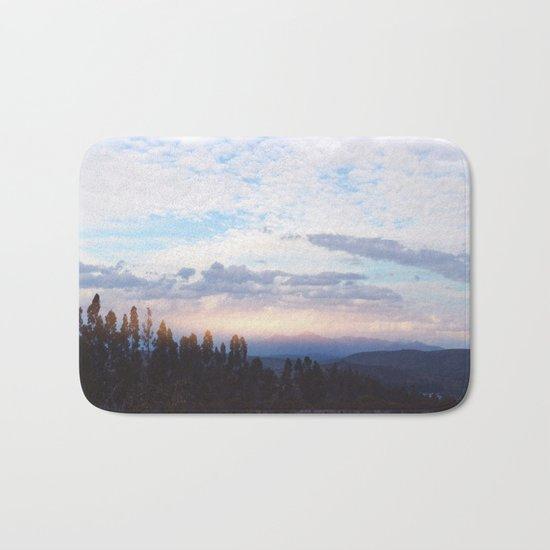 Landscape & Clouds Bath Mat