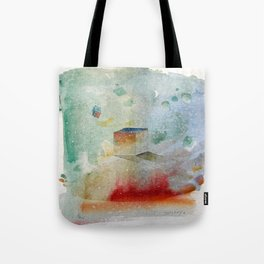 waxing crescent.three Tote Bag