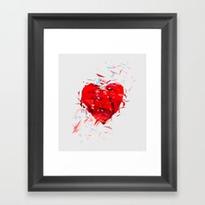 Fragile Heart Framed Art Print