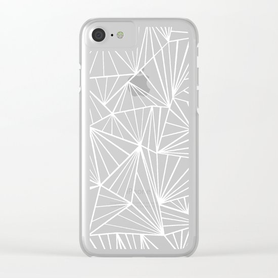 Ab Fan #2 Clear iPhone Case