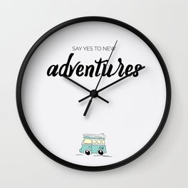 Art Print Adventures Wall Clock
