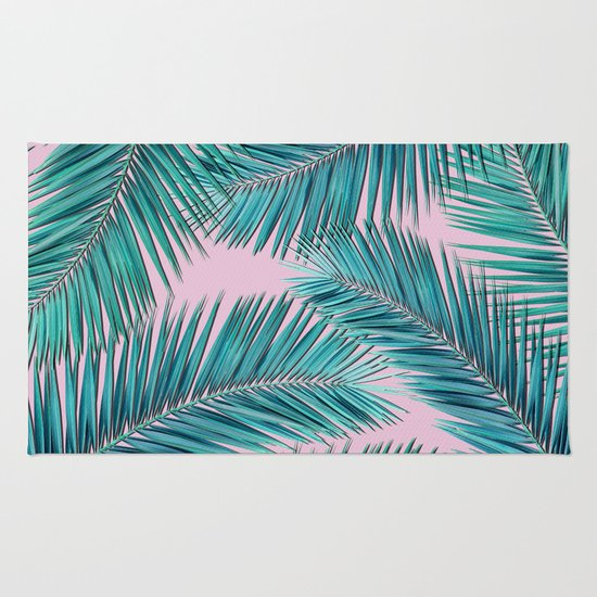 Palm Tree Rug Home Decor