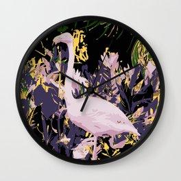 Flamingo02 Wall Clock