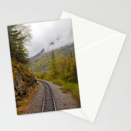 The ride to dusk Stationery Cards