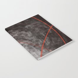 I should have read between the lines- abstract expressive art Notebook