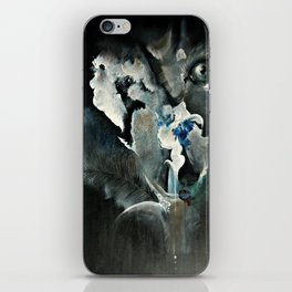 Wolf In Space iPhone Skin