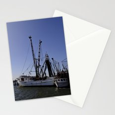 fishing boat and his sidekick Stationery Cards
