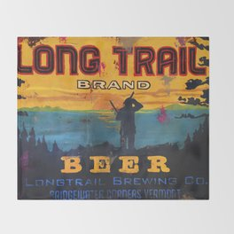 Vermont Brewers Series Long Trail Throw Blanket