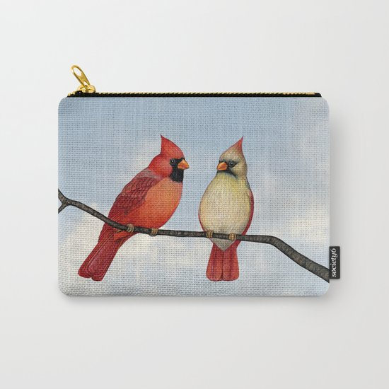 cardinal couple Carry-All Pouch