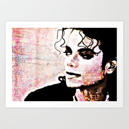 Pop Lord In Color Art Print