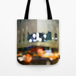 Night Now Tote Bag