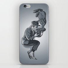 Cannes 2013 x Spielberg x ET (black and white) iPhone & iPod Skin