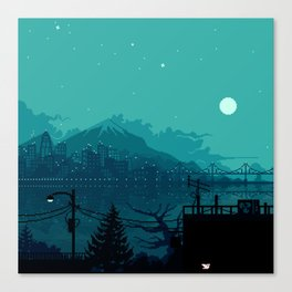 Dark Harbor Canvas Print