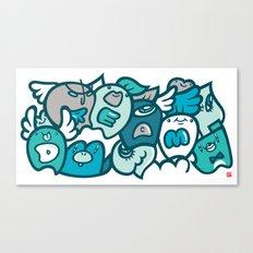 夢 - DREAM Canvas Print