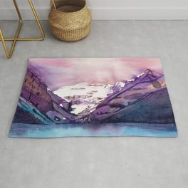 Coloful Lake Louise Rug