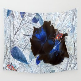 Red Beetles Wall Tapestry