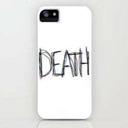Trippy Death iPhone Case
