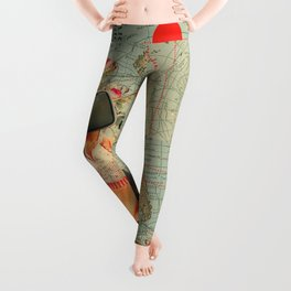 Antarctic Broadcast Leggings